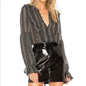 Paige Haiku blouse sz M, worn once